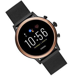 Montre Cardio Fossil Gen 5 Smartwatch Julianna HR FTW6036 - Or