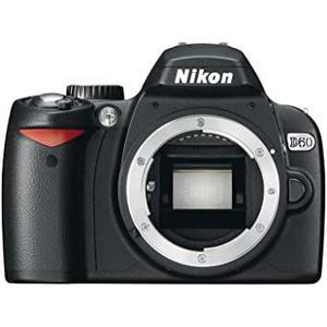 Nikon D60 Hybrid 10Mpx - Black