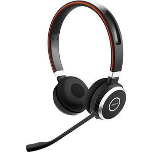 Kopfhörer Rauschunterdrückung Bluetooth mit Mikrophon Jabra Evolve 65 MS - Schwarz