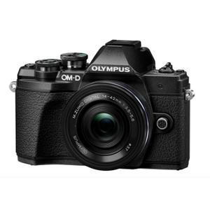 Spiegelreflexkamera Olympus OM-D E-M10 Mark III Schwarz + Objektiv M.Zuiko II 14-42 mm  f/3.5-5.6