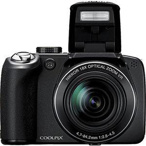 Kompakt Nikon Coolpix P80 - Schwarz