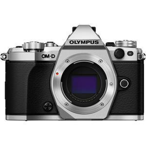 Olympus OM-D E-M5 Mark II SLR Camera Body Only - Black/Silver