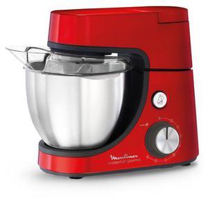 Multifunctionele keukenmachine Moulinex QA512G10 - Rood
