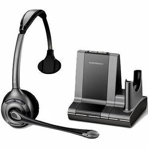 Plantronics Savi W710 Noise-Cancelling   Bluetooth Headphones with microphone - Black/Grey