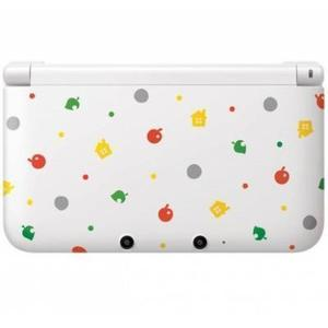 Nintendo 3DS XL 4 GB Special Edition Animal Crossing -käsikonsoli + Welcome to Animal Crossing : New Leaf - peli - Valkoinen