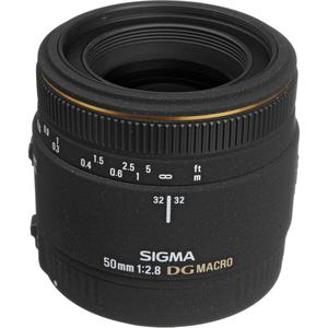 Objektiivi Sigma EF EX DG 50mm f/2.8 DG Macro