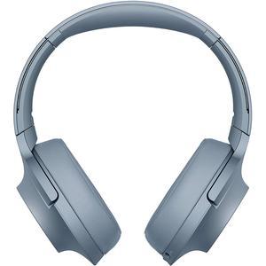 Casque Réducteur de Bruit Bluetooth avec Micro Sony WH-H900N - Bleu