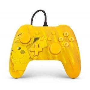 Manette Power A Nintendo Switch Pikachu static - Jaune