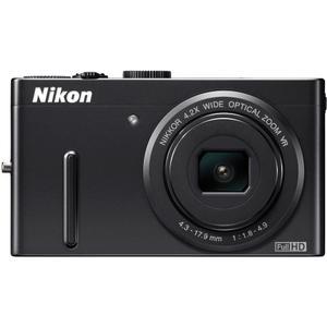 Compactcamera Nikon Coolpix P300 Zwart + Lens Nikon Nikkor Wide Optical Zoom 24-100 mm f/1.8-4.9