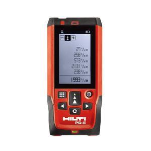 Lasermeter Hilti PD-E - Rot/Schwarz