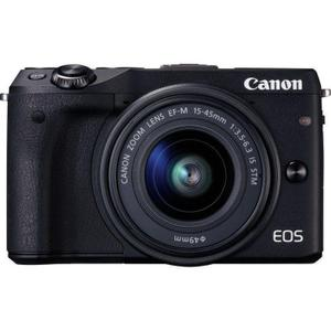 Cámara híbrida Canon EOS M3 - Negro + Lente Canon EF-M 15-45 mm f/3.5-5.6 IS STM
