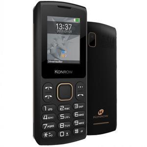Konrow Chipo-3 Dual Sim - Noir- Débloqué
