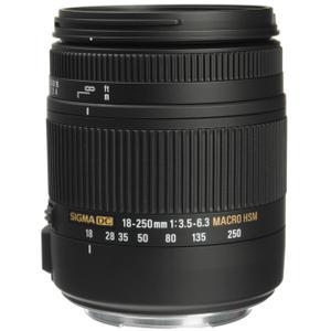 Objektiv Sigma 18-250mm f/3.5-6.3 DC Macro OS HSM - Schwarz