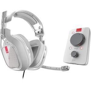Kopfhörer Rauschunterdrückung Gaming    mit Mikrophon Astro A40 TR + Mixamp Pro TR - Weiß