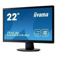 "Schermo 21"" LCD FHD Iiyama ProLite E2282HS-GB1"