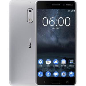 Nokia 6 32GB Dual Sim - Zilver - Simlockvrij