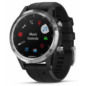 Horloges Cardio GPS Garmin Fenix 5S Plus - Zilver/Zwart