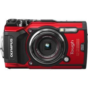 Compact - Olympus Tough TG-5 - Rouge