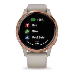 Horloges Cardio GPS Garmin Venu - Rosé goud