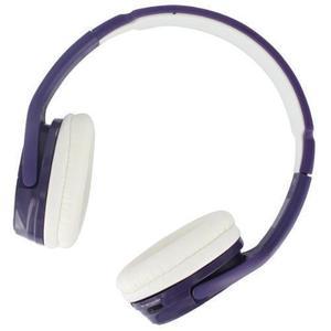 BeeWi BBH100-B8 Microfoon Bluetooth-hoofdtelefoon - Lila/Wit