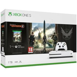 Console Microsoft Xbox One S 1TB Tom Clancy's The Division 2 Edition + Joystick - Wit