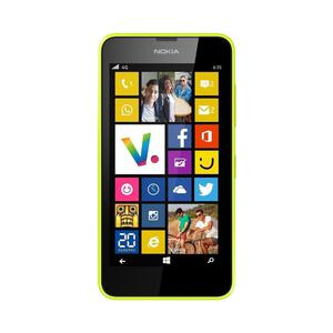 Nokia Lumia 635 - Gelb- Ausländischer Netzbetreiber