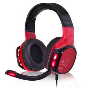 Spirit Of Gamer Elite-H60 Microfoon Gaming Hoofdtelefoon - Zwart / Rood