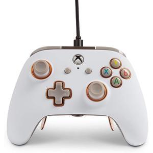 Controller cablato PowerA Fusion Pro per Xbox One - Bianco
