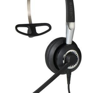 Kopfhörer Rauschunterdrückung mit Mikrophon Jabra BIZ 2400 II Mono - Schwarz