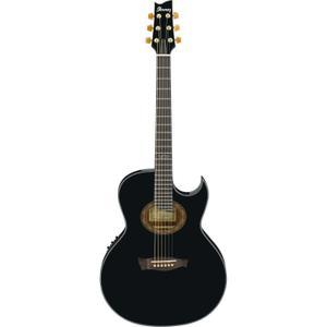 E-Gitarre Ibanez EP5 BP Steve Vai Signature Euphoria - Schwarz