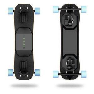 Elektirsches Skateboard Leiftech V2 mit Batterie LT2X - Schwarz