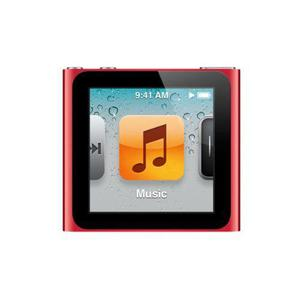 MP3-player & MP4 8GB iPod Nano 6th Gen - Rot