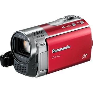 Caméra Panasonic SDR-S50 - Rouge