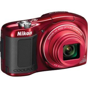 Cámara compacta Nikon Coolpix L620 - Rojo