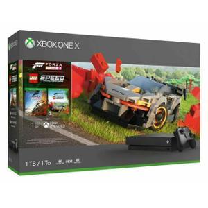 Xbox One X 1 To + Manette/Forza Horizon 4 LEGO - Noir