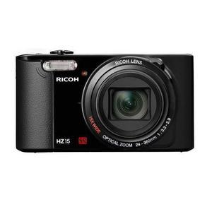 Compactcamera Ricoh HZ15 Zwart + Lens Ricoh Wide Optical Zoom 24-360 mm f/3.3-5.9