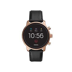 Horloges Cardio GPS Fossil Gen 4 Explorist HR DW6F1 - Goud/Zwart