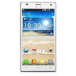 LG Optimus 4X HD 16 GB   - White - Unlocked