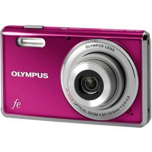 Kompaktkamera Olympus FE-4000 Fuchsie + Objektiv Olympus Lens 4.65-18.6 mm f/2.6-5.9
