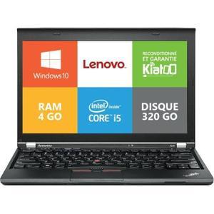 "Lenovo ThinkPad X230i 12"" Core i3 2,5 GHz  - HDD 320 GB - 8GB AZERTY - Französisch"