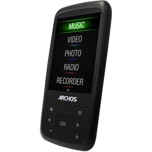 MP3-player & MP4 8GB Archos 24B Vision - Schwarz