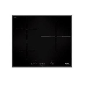 Table de cuisson - Induction 3 foyers - Smeg Si5633b - 7400 W