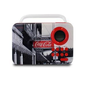 Metronic Coca-Cola West Street Ραδιόφωνο Ξυπνητήρι
