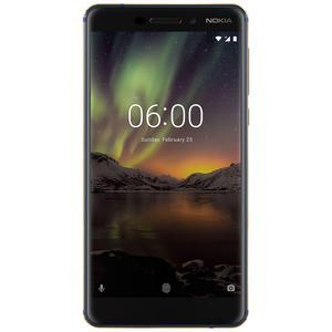 Nokia 6.1 64GB Dual Sim - Blauw/Goud - Simlockvrij
