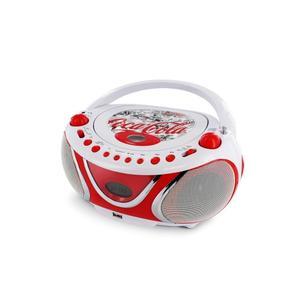 Radio CD Metronic Coca Cola Fresh- Blanc/Rouge