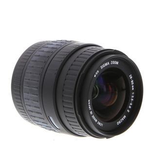 Objektiv  Sigma 28-80 mm 1: 3,5-5,6 II - Sony Mount - Schwarz