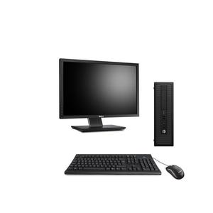 "Hp ProDesk 600 G1 SFF 22"" Core i5 3,2 GHz - SSD 240 GB - 8GB"
