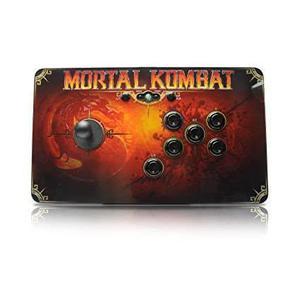 Controlleur Microsoft Xbox 360 Mortal Kombat FightStick - Noir
