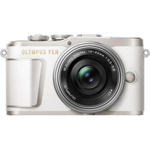 Hybrid-Kamera Olympus Pen E-PL9 Grau + Objektiv Olympus M.Zuiko Digital 14-42 mm f/3.5-5.6