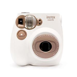 Cámara instantánea Fujifilm Instax Mini 7c - Blanco/Marrón